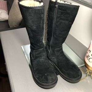 UGG Australia Tall Boots With Full Side Zip